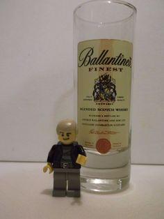 Ballantine's Blended Scotch Whiskey Tall Shot Glass