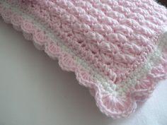 Crochet Pattern Baby Blanket Angel Wings Stitch Easy Crochet Pattern, via Etsy.