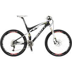 "The Spark RC is a race worthy 26"" full suspension bike #mountainbike #mtb #scott #scottbike"