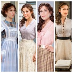 When Calls The Heart - Elizabeth Thatcher - I love the outfits they designed for her character! Elizabeth Thatcher, Jack And Elizabeth, Heart Dress, Dress Up, Pioneer Clothing, Historical Clothing, Modest Clothing, Film Serie, Looks Vintage