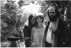 Wallace Berman, Shirley Berman, and Allen Ginsberg.