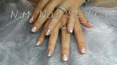CND Shellac Studio White, FAIRY DUST, folie en Glitters.
