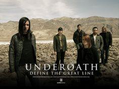 Underoath. Aaron Gillespie is an amazing drummer