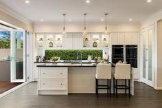 Miami Executive - Sapphire Beach - McDonald Jones Homes Hamptons Kitchen, Hamptons Decor, Kitchen Cabinetry, Kitchen Pantry, Kitchen Ideas, Kitchen Drawers, Mcdonald Jones Homes, Brooklyn Kitchen, Log Home Kitchens