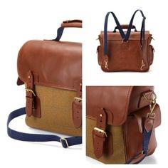 Made in England Briefcase #heritage #tweed