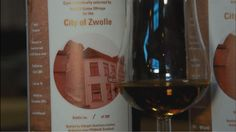 Presenting Glenturret 10 YO whisky for the City of Zwolle 2015