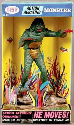 Image result for creature from the black lagoon fish tank bubbler