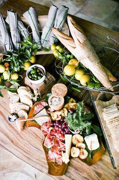 Cheese and charcuterie spread | Adya Robano