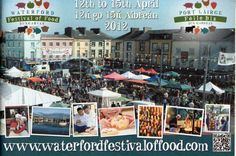 Waterford Festival of Food.This looks like a place I want to go. Festivals, Ireland, Things I Want, Places To Visit, About Me Blog, Bucket, Social Media, Posts, Amazing