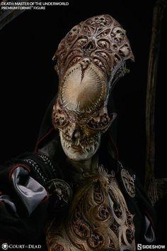 Court of the Dead Death Master of the Underworld Premium Fo Alien Character, Character Art, Character Design, Arte Horror, Horror Art, Dark Fantasy Art, Dark Art, Power Rangers, Dbz