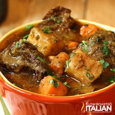 SERVES 12  |  ACTIVE TIME 20 Min  |  TOTAL TIME 2 Hours  2 pounds beef chuck roast, trimmed and cut into 1 - 1 1/2 inch cubes 1/4 cup all-purpose flour 1 teaspoon paprika 1 teaspoon coarse ground blac