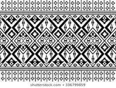Image vectorielle de stock de Navajo Aztec Border Vector Illustration Page 259728050 Maori Patterns, Ethnic Patterns, Cool Patterns, Navajo, Vector Border, Border Pattern, Illustrations, Mandala Art, Royalty Free Photos