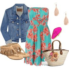 I love this cute spring dress