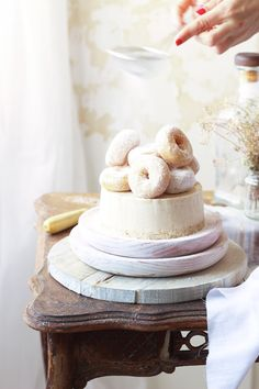 Receta tarta donuts® sin horno - Megasilvita