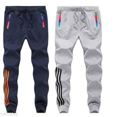 Track Pants Stylish Men's Cotton Blend Track Pants Fabric: Cotton Blend Size: S - 28 in, M - 30 in, L - 32 in, XL - 34 in,XXL - 36 in Length: Up to 40 in Type: Stitched Description: It Has 2 Pieces of Men's Track Pant Work: Solid Sizes Available: S, M, L, XL, XXL *Proof of Safe Delivery! Click to know on Safety Standards of Delivery Partners- https://ltl.sh/y_nZrAV3  Catalog Rating: ★3.9 (12241)  Catalog Name: New Cotton Blend Stylish Men's Track Pants CatalogID_584815 C69-SC1214 Code: 854-4110913-