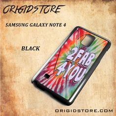 Love 2 Fab 4 You For Samsung Galaxy Note 4 Snap On and 3D Case