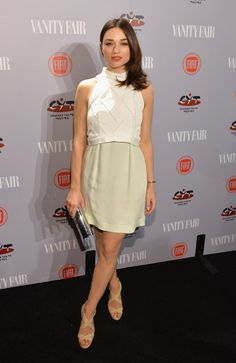 Crystal Reed in Paper London - Vanity Fair & FIAT Young Hollywood celebration