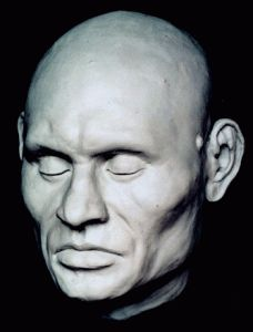 The forensic facial reconstruction of a roughly 45 year old man named Harwa who was mummified some years ago courtesy of the American Journal of Roentgenology Ancient Aliens, Ancient Egypt, Ancient History, Forensic Facial Reconstruction, Famous People In History, Collections D'objets, Egyptian Mummies, Face Images, Forensics