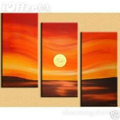 flowers sunrise sky landscape abstract oil painting on canvas art paintings modern acrylic art pictures wall decor home (Mainland)) Diy Canvas Art, Oil Painting Abstract, Abstract Canvas, Acrylic Art, Acrylic Flowers, Art Oil, Painting Inspiration, Art Pictures, Modern Art