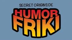 Animation for a HUMOR FRIKI Book Presentation at the Argentina ComicCon 2016