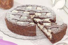 Crostata al cacao con ricotta e Nutella