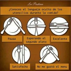 Clothes hanger art simple Ideas for 2019 Comment Dresser Une Table, Dining Etiquette, Etiquette And Manners, Table Manners, Learn French, Dinner Table, Hacks, Food And Drink, Images Alphabet