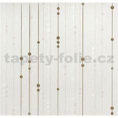 Vinylové tapety na zeď WohnSinn - proužky s kuličkami béžovo-zlaté Pearl Necklace, Ornament, Pearls, Jewelry, String Of Pearls, Decoration, Jewlery, Jewerly, Beads