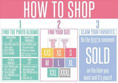 Lularoe How to shop