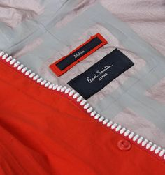 Paul Smith Jeans Red Zipped Hooded Waterproof Jacket  #GavinRecommends