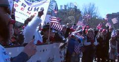 Trump fans and foes clash in Berkeley, sparking violence, multiple arrests