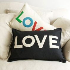 and more Love cushions
