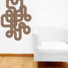 Style and Apply Endless Retro Wall Decal Color: Brown