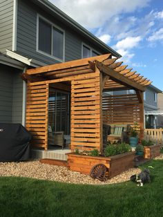 7 Best Pergola Privacy Wall Images Walls