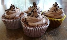 Chocolate Sponge-cake Cupcakes
