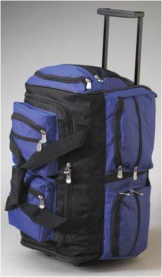 20 Wheel Bag New Eagle 18 20 22 28 30 34 38 40 42 46 Wheel Holdall Suitcase Travel Bag Sports Bags
