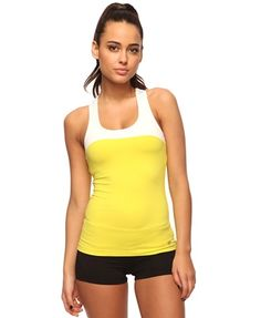 Colorblock Athletic Tank - StyleSays