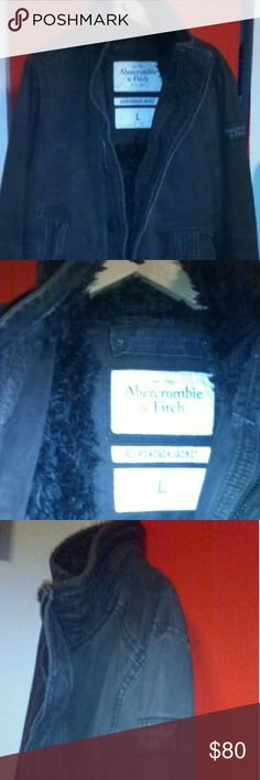 Mens abercrombie coat Men's abercrombie brown coat Abercrombie & Fitch Jackets & Coats Military & Field