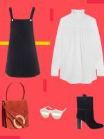 The ONLY Dress You Need In Your Closet This Fall #refinery29  http://www.refinery29.com/how-to-wear-pinafore-dress-5-ways