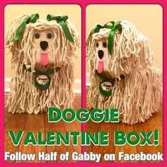 Doggie Valentine Box. Detailed instructions with pictures for every step! Seriously, this the cutest friggin' thing ever!!