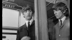 Ringo and George Hard Day's Night
