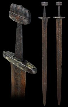 Sword, Scandinavia, 9th century or 10th century Wallace Collection A.