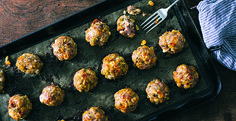 Pat LaFrieda Recipe: Pork Meatballs with Toasted Pignoli and Golden Raisins