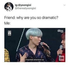 OMG ME Hahaha jk but i get into my school's drama a lot bcs everyone is dramatic ------------ * - - - - #bts #BTS #jimin #suga #jhope #jin #rapmonster #rapmon #v #taehyung #bangtan #chimchim #namjin #bangtansonyeondan #bangtanboys #yoonmin #agustd #bangtansoyeondan #jikook #namjoon #seokjin #hoseok #yoonseok #vkook #BTSMEMES #BTSMEME #btsmeme #btsmemes #memes #vmin