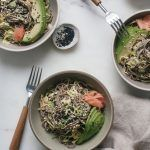 Permalink to: Brussels Sprouts Soba Noodle Salad with Miso-Tahini Dressing