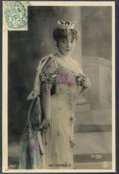PE126-ARTIST-STAGE-STAR-NETHERSOLE-CROWN-Tinted-PHOTO-pc-REUTLINGER