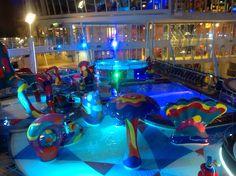 Les piscines pour enfants sur l'Allure of the Seas