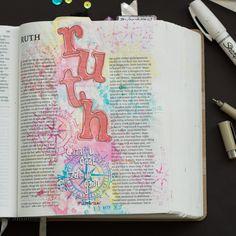 Bible Journaling Ruth