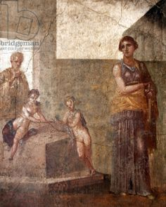 Medea, from the House of Dioscuri, Pompeii (fresco)