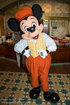 Aug 2014 - Mickey Mouse