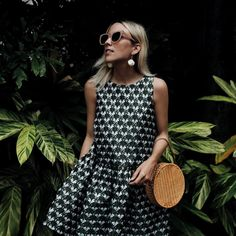 Beautiful Jacey Lenae Duprie wears the Maje ROWER printed dress, Preppy Outfits, Spring Outfits, Cool Outfits, Zara, Expensive Clothes, Casual Dresses, Summer Dresses, Lookbook, Mode Vintage